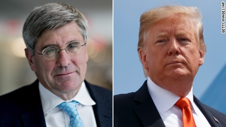 Stephen Moore and Donald Trump