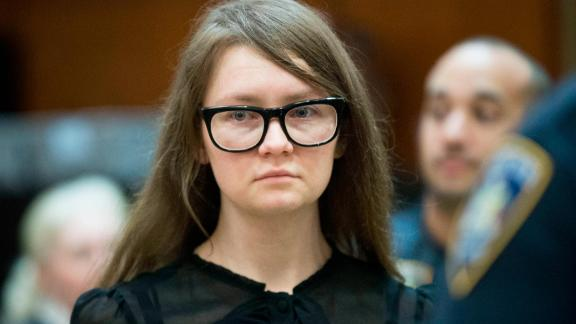 Anna Sorokin returns to the courtroom after the jury sent a note, Thursday, April 25, 2019, in New York. Sorokin, who claimed to be a German heiress, is on trial on grand larceny and theft of services charges. (AP Photo/Mary Altaffer)