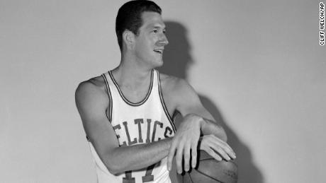John Havlicek played with the Celtics from 1962-1978.