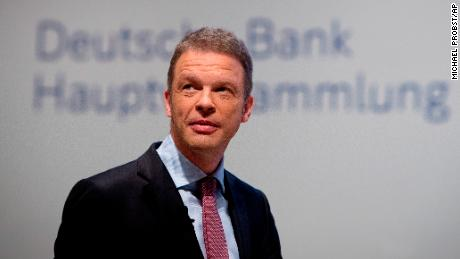 Deutsche Bank CEO Christian Scheiding faces tricky questions about the bank