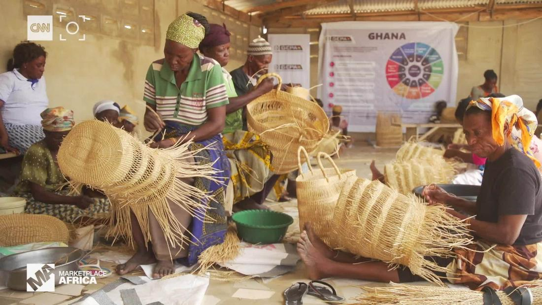 How these Ghanaian women have made basketweaving into a million dollar  industry - CNN