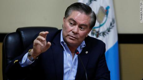 Former Guatemalan presidential candidate Mario Estrada is in custody in the United States.