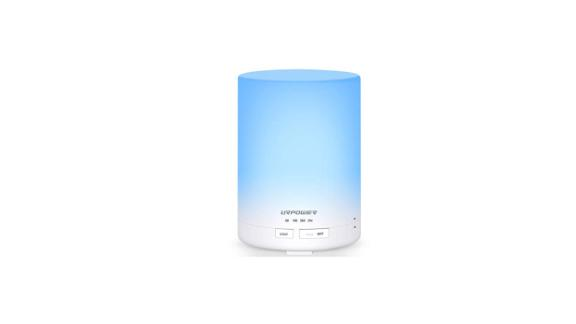 """<strong>Aroma Essential Oil Diffuser Night Light Ultrasonic Air Humidifier ($19.99; </strong><a href=""""https://amzn.to/2GF0d7k"""" target=""""_blank"""" target=""""_blank""""><strong>amazon.com</strong></a>)"""