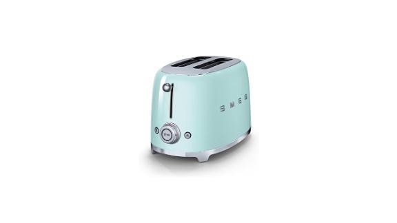 "<strong>Smeg 50's Retro Style Aesthetic 2 Slice Toaster ($159.95; </strong><a href=""https://amzn.to/2UZ4215"" target=""_blank"" target=""_blank""><strong>amazon.com</strong></a>)"