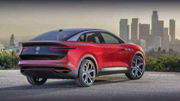 The VW ID Crozz is an electric crossover SUV aimed at the US market.