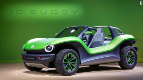 The Vw Id Buggy Is Highly Impractical But Very Evocative Of 1960s Beach Buggie