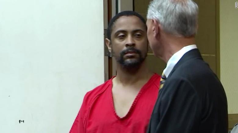 Isaiah Peoples appeared in a Santa Clara County Superior Court on Friday.