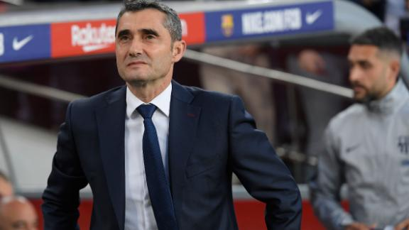 Barcelona's coach Ernes can now focus on securing the treble this season.