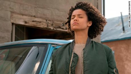 "Gugu Mbatha-Raw is an ordinary-looking woman with superpowers in ""Fast Color."""
