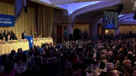 Historian Ron Chernow honors journalists, First Amendment at White House Correspondents Dinner