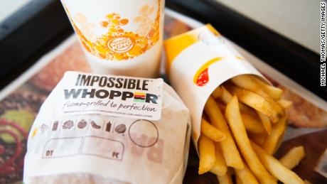 Burger King tested the Impossible Whopper in St. Louis.