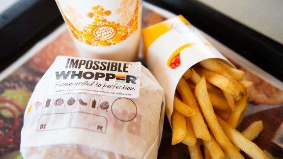 The Impossible Whopper is now being served in four US cities.