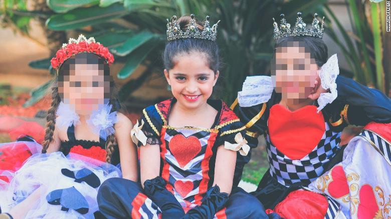 Noya Dahan, 8, is the niece of fellow shooting victim Almog Peretz.