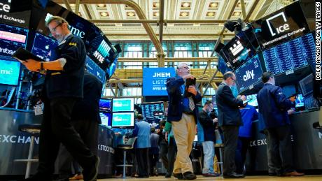 NEW YORK, NY - APRIL 24:  Traders and financial professionals work on the floor of the New York Stock Exchange (NYSE) at the opening bell, April 24, 2019 in New York City. U.S. stocks started the trading day mixed, following Tuesday's closing record highs for the S&P 500 and Nasdaq. (Photo by Drew Angerer/Getty Images)