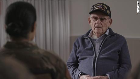Veteran Alan Moskin in 'Liberation Heroes: The Last Eyewitnesses'