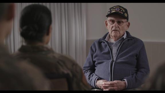 Veteran Alan Moskin in 'Liberation Heroes: The Last Eyewitnesses'