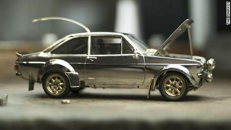 Ford Ford Auction >> This Jewel Encrusted Model Of A Souped Up Ford Escort Is Going Up