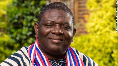 Goldman Environmental Prize 2019 recipient for Africa, Alfred Brownell