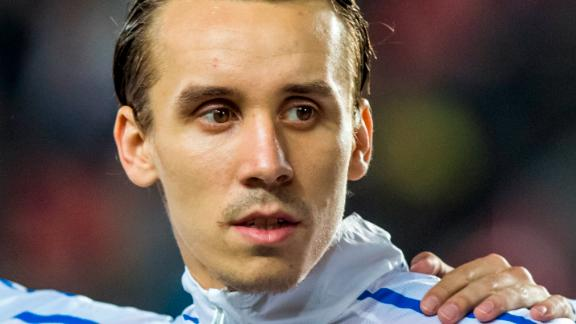 Josef Sural pictured before playing for the Czech Republic.