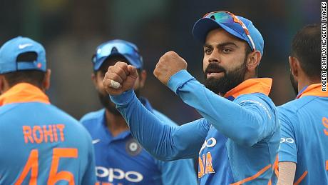 Virat Kohli celebration