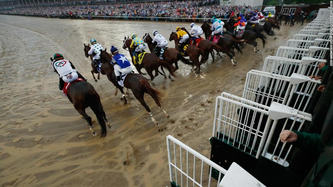 The horses are randomly assigned a post position before the race. There are multiple theories to which position is best.