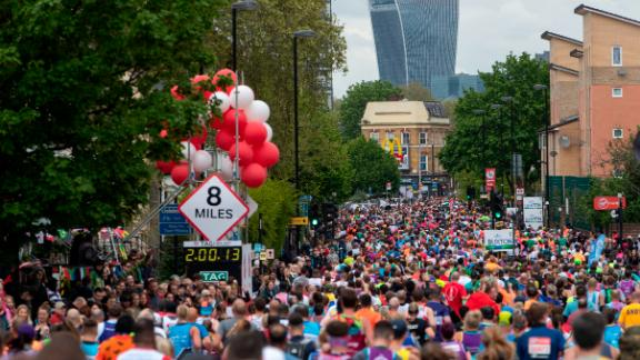 Close to 43,000 runners took part in the 2019 London Marathon