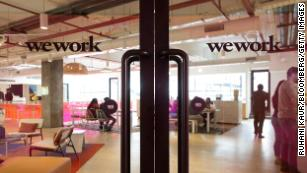 WeWork isn't just selling desk space  It's selling a new-age