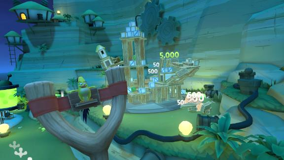 The game Angry Birds VR: Isle of Pigs will be available for Oculus Quest.