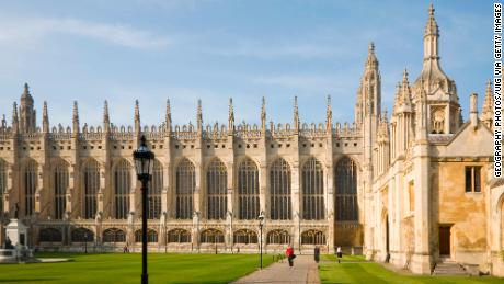 King's College Chapel at the University of Cambridge, which will investigate its links to slavery.