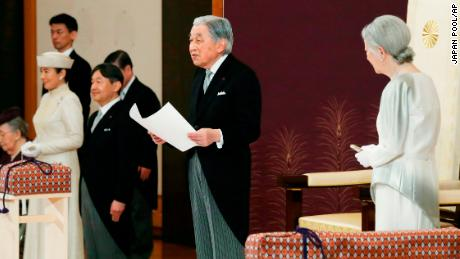 Watch: Japanese Emperor Akihito abdicates throne