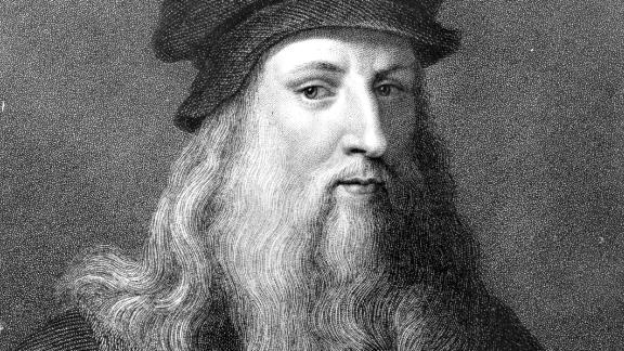 Circa 1510, The Italian painter, sculptor, architect and engineer Leonardo da Vinci, (1452 - 1519). Original Artwork: Engraving by J Posselwhite after an engraving by Raphael Morghen, (1758 - 1833), after a self-portrait by da Vinci. (Photo by Hulton Archive/Getty Images)