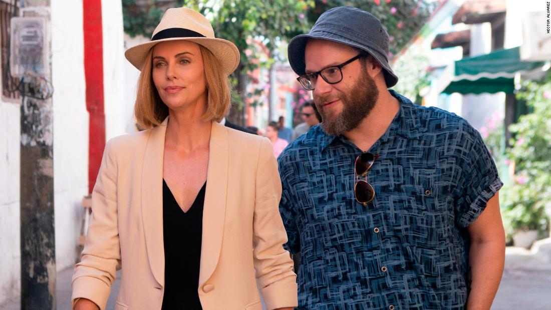 'Long Shot' unevenly blends political satire and romantic comedy