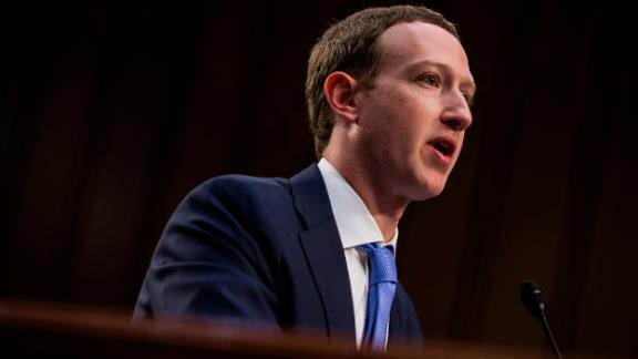 WASHINGTON, DC - APRIL 10: Facebook co-founder, Chairman and CEO Mark Zuckerberg testifies before a combined Senate Judiciary and Commerce committee hearing in the Hart Senate Office Building on Capitol Hill April 10, 2018 in Washington, DC. Zuckerberg, 33, was called to testify after it was reported that 87 million Facebook users had their personal information harvested by Cambridge Analytica, a British political consulting firm linked to the Trump campaign. Photo by Zach Gibson/Getty Images)