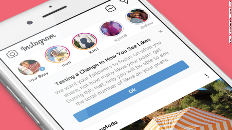 Instagram is hiding likes in the United States.