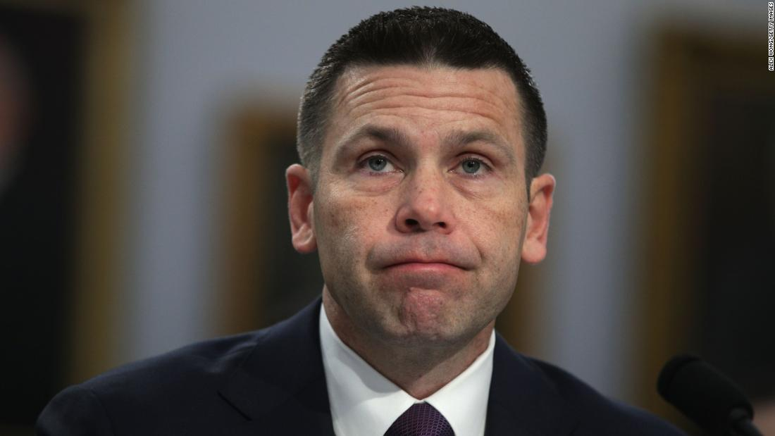 Acting Homeland Security Secretary Kevin McAleenan defends shifting DHS resources to the border