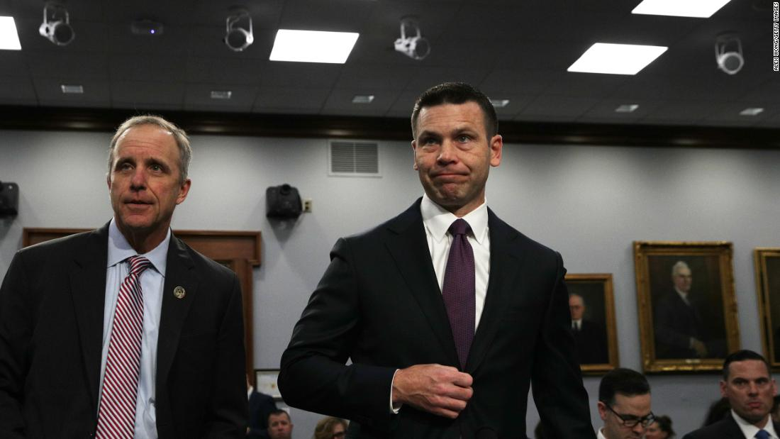 McAleenan faces new questions on Capitol Hill amid DHS funding shifts, personnel drama