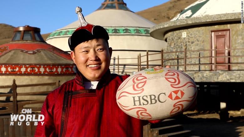 ผลการค้นหารูปภาพสำหรับ Bonebreaking, horseback archery, scrummaging: How rugby came to Mongolia