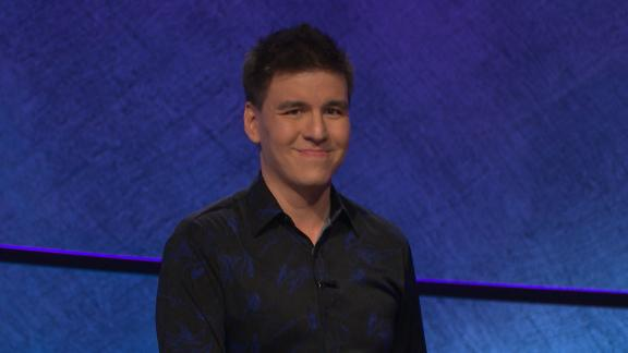James Holzhauer appearing on Jeopardy on Tuesday, April 30.