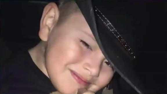Caiden Reyes-Ortiz, 5, died after falling from a scooter he was riding with his mother.