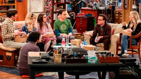 The cast of 'The Big Bang Theory' filmed their last episode on April 30.