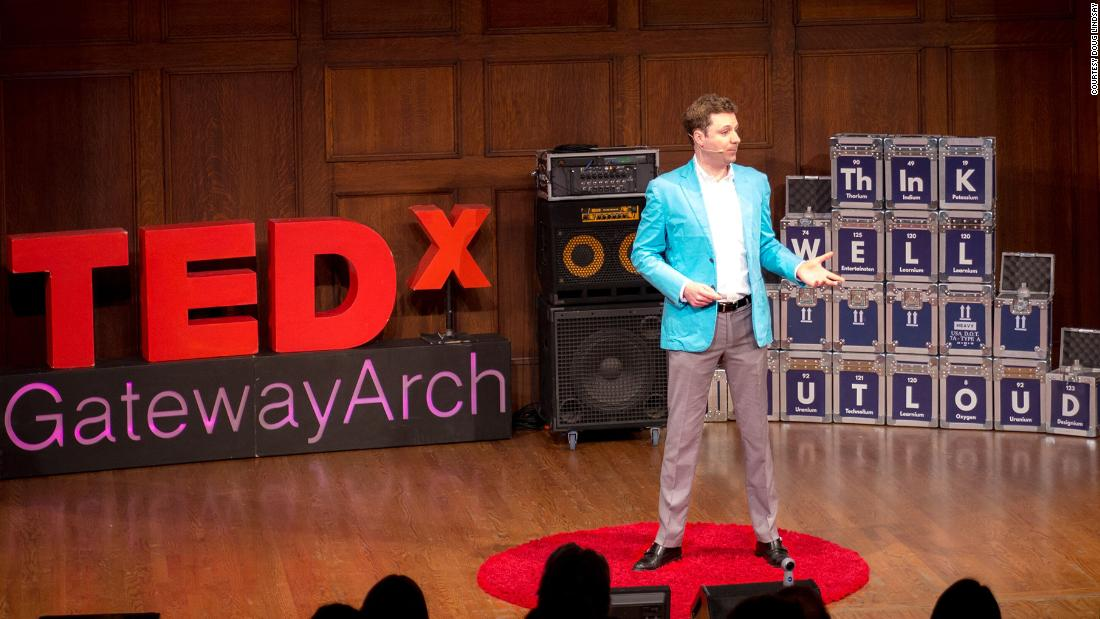 Today Lindsay tells his remarkable story to audiences around the country, including at a TEDx event in St. Louis.