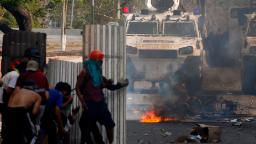 Venezuela in crisis as Guaido calls for May Day protests: Live updates