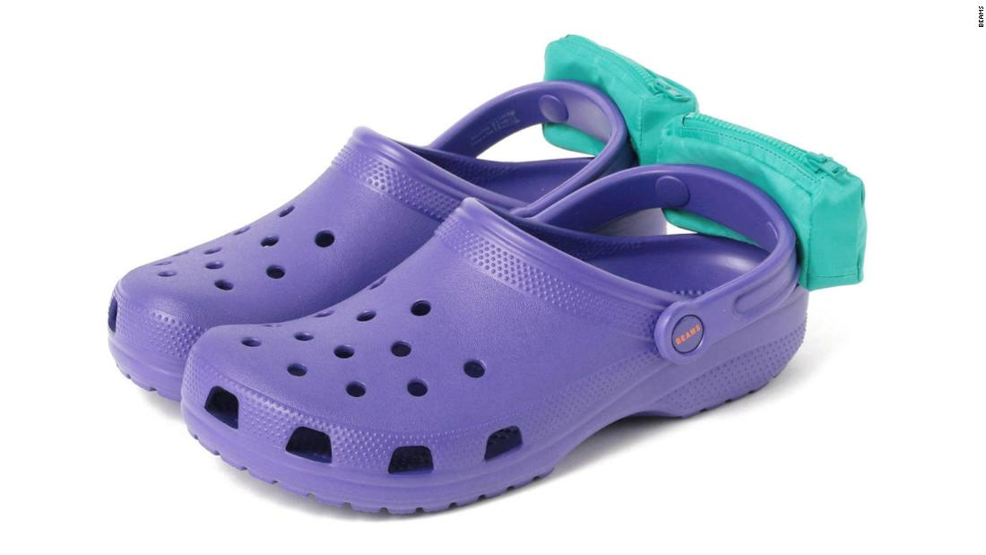 Crocs released a shoe with little fanny packs, because of course they did