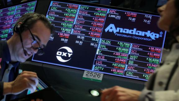 Occidental Petroleum's takeover bid for Anadarko Petroleum would be one of the biggest oil and gas deals in history. Occidental has pledged to quickly unload up to $15 billion of assets to repair its balance sheet.