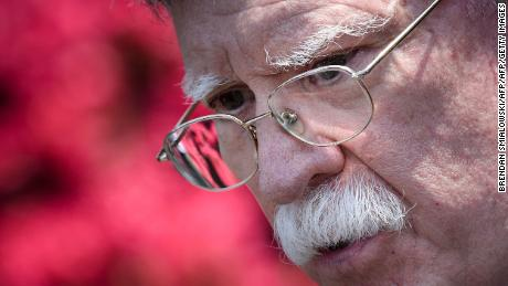 Leaving John Bolton out of key Trump meetings is strange