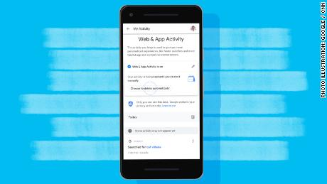 Google is adding auto-delete tools for location history data and web and app activity.