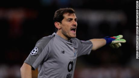 a4593e9e0a5 Iker Casillas was taken to hospital after suffering a heart attack.