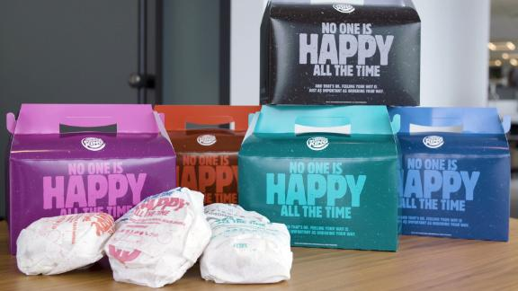 Burger Kings Real Meals boxes offer customers their meal in a variety of moods.