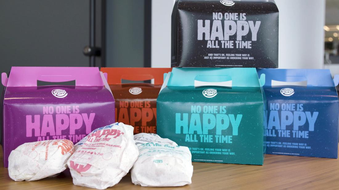 Burger King has a message for McDonald's: Not every meal is happy
