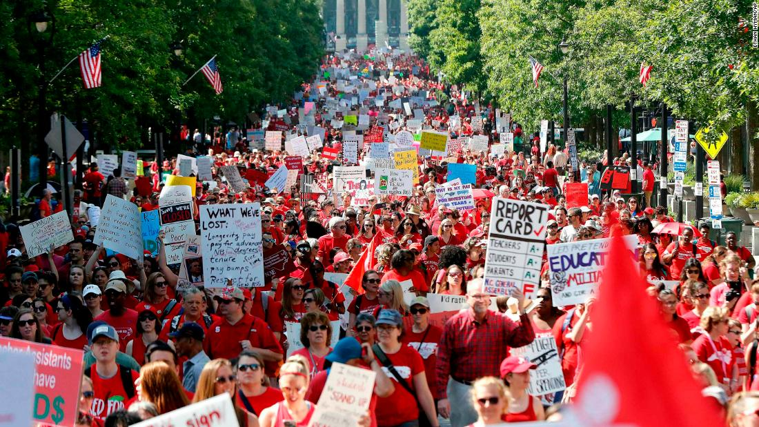 Oregon teachers are walking out, forcing 600 schools to close. But they're not demanding raises
